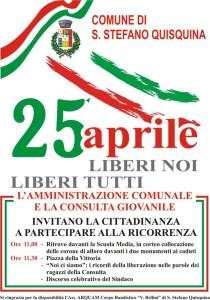 25 aprile 2014 – Festa della Liberazione