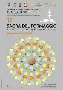Invito – Quisquina Cheese Festival – 17^ Sagra del Formaggio e dei prodotti tipici quisquinesi