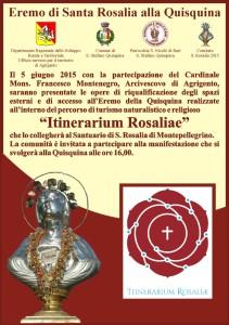Itinerarium Rosalie