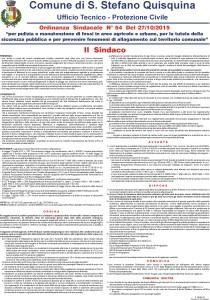 Ordinanza n. 54 del 27.10.2015
