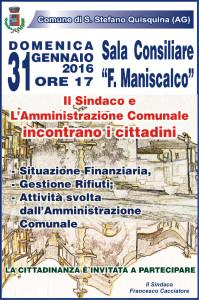 Assemblea Cittadina – domenica 31 Gennaio alle ore 17,00