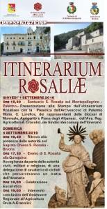 Itinerarium Rosaliae – iI cammino di Santa Rosalia diventa un percorso turistico religioso
