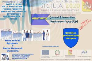 Avviso – corso di formazione professionale per Operartore Socio Assistenziale